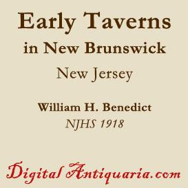 Early Taverns in New Brunswick | eBooks | History