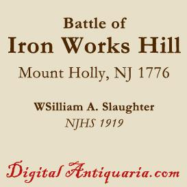Battle of Iron Works Hill, 1776 | eBooks | History