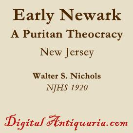 Early Newark - A Puritan Theocracy | eBooks | History