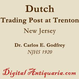 dutch trading post at trenton