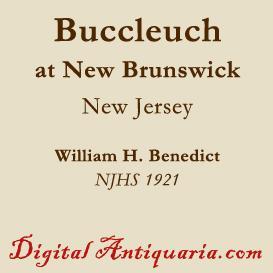 buccleuch (new brunswick, new jersey)