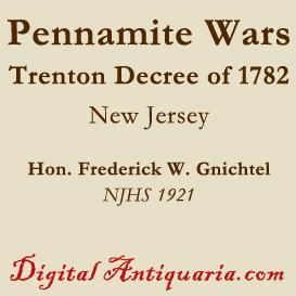The Pennamite Wars and the Trenton Decree of 1782 | eBooks | History