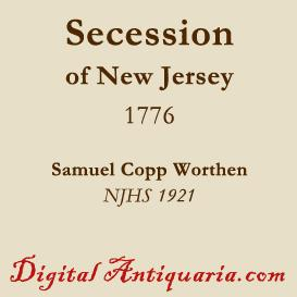 Secession of New Jersey | eBooks | History