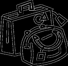 Luggage - eps | Other Files | Clip Art