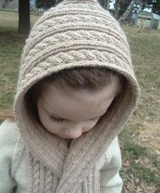 Hooded Scarf Knitting Pattern   Other Files   Patterns and Templates