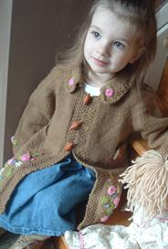 Darling Wool Coat Knitting Pattern | Other Files | Patterns and Templates