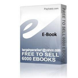 free to sell 6000 ebooks ultimate money maker- ebooks