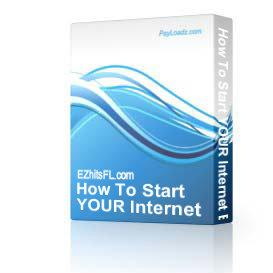 How To Start YOUR Internet Business | Audio Books | Business and Money