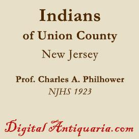 Indians of Union County (New Jersey) | eBooks | History