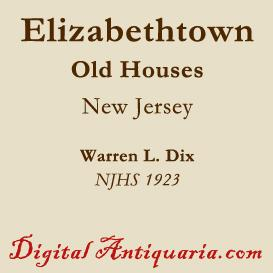 Old Houses of Elizabethtown | eBooks | History