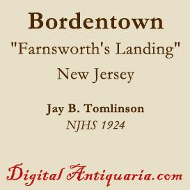 Historic Bordentown (New Jersey) | eBooks | History