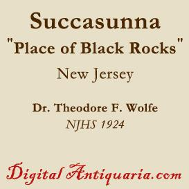 Succasunna (New Jersey) | eBooks | History
