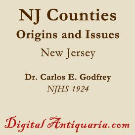 Origin of the Counties in New Jersey | eBooks | History