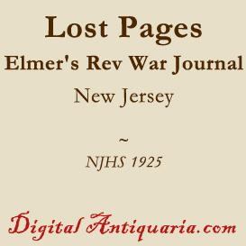 Lost Pages of Elmer's Revolutionary Journal | eBooks | History