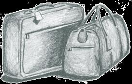 Luggage - psd | Other Files | Clip Art