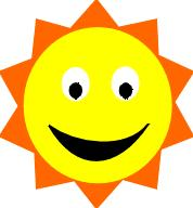 Smiling Sun - eps | Other Files | Clip Art