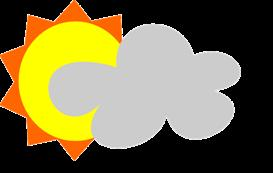 Partly Sunny - eps | Other Files | Clip Art