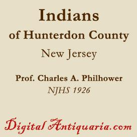 Indians of Hunterdon County (New Jersey) | eBooks | History