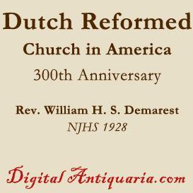 reformed church in america