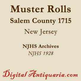 Military Muster Roll, 1807 (New Jersey) | eBooks | History