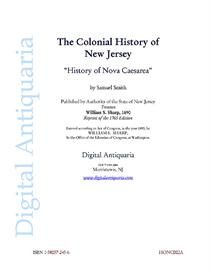 History of Nova Caesarea (New Jersey) | eBooks | History