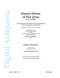 Historic Houses of New Jersey (1902)   eBooks   History