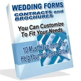 Wedding Photography Forms Contracts and Brochures | eBooks | Business and Money