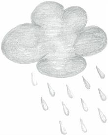 Rain Cloud - psd | Other Files | Clip Art