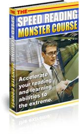 The Speed Reading Monster Course | eBooks | Self Help