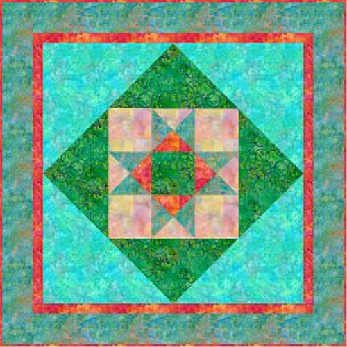 First Additional product image for - Elementary Star Quilt Pattern