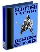 scottish tattoo flash, designs and images e-book