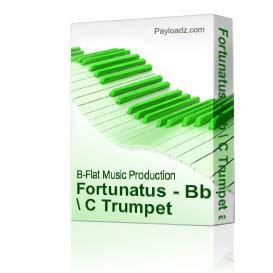 Fortunatus - Bb / C Trumpet and Organ by Clyde Hunt   eBooks   Music