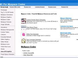 myspace website script