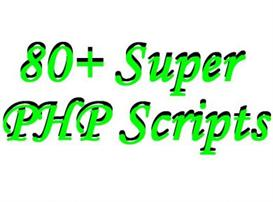 80+ SUPER PHP SCRIPTS - Spruce Up Your Website + RESELL | Software | Design Templates