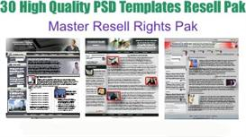 30 NEW High Quality PSD Templates | Software | Design Templates