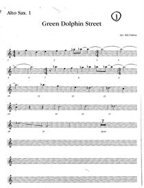 Green Dolphin Street big band arrangement pdf | eBooks | Sheet Music