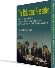 seven steps for reluctant presenters