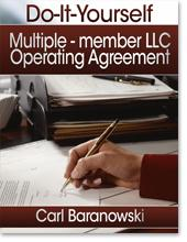 LLC Operating Agreement - Multiple Member Version | eBooks | Business and Money