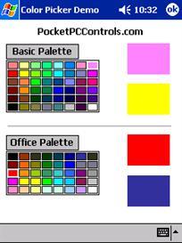 Color Picker Control w/Design Support .NET Compact Framework | Software | Developer