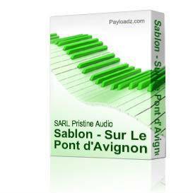 Sablon - Sur Le Pont d'Avignon | Music | Classical
