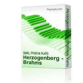 Herzogenberg - Brahms Variations, etc | Music | Classical
