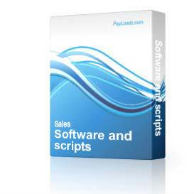 Software and scripts | Audio Books | Internet