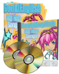 advanced genki english hip hop songs  mp3s + pdf books + pc/mac software