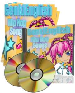 advanced genki english hip hop songs  mp3s + pdf books + pc/mac software