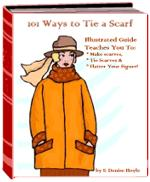 101 Ways to Tie a Scarf | eBooks | Arts and Crafts