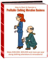 Start A Profitable Clothing Alteration Business | eBooks | Arts and Crafts