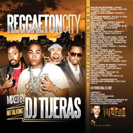 mp3 mixtape: reggaeton city by dj tijeras