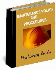 maintenance policy and procedures manual ebook