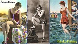 100+ Early Swimsuit Sirens - Vintage Postcard Scrapbook | eBooks | Entertainment