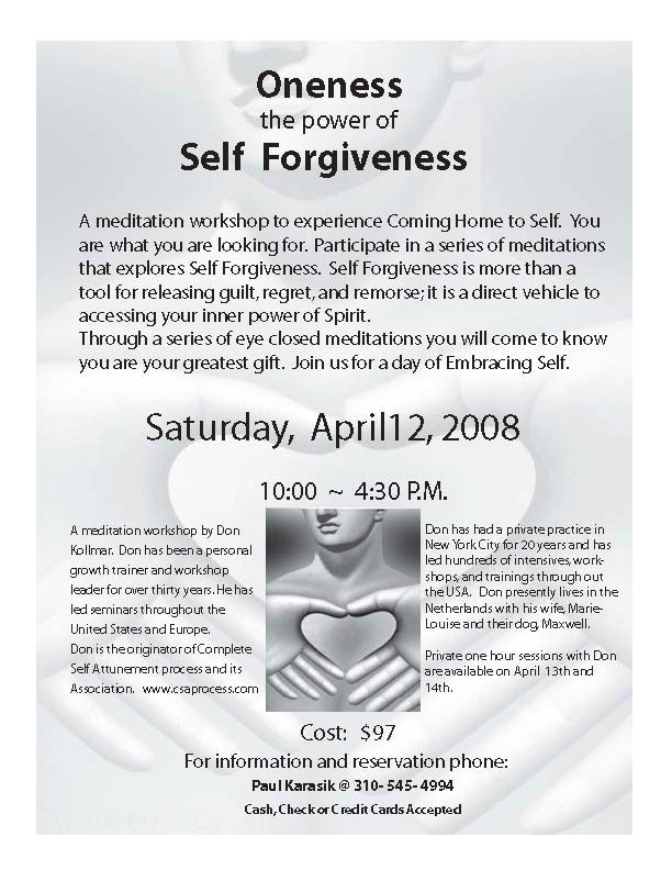 First Additional product image for - Oneness: Power of Self Forgiveness mp3